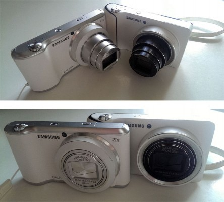 Samsung Galaxy Camera (справа) и Samsung Galaxy Camera 2 (слева)