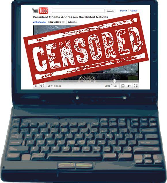 Цензура к нам приходит: Закрыт доступ к YouTube