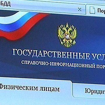 На портале госуслуг зарегистрировались более 320 тыс. сибиряков