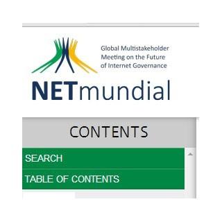 Логотип конференции NETmundial
