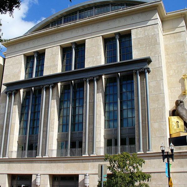 Публичная библиотека Джексонвиля (Флорида, США). Главный корпус