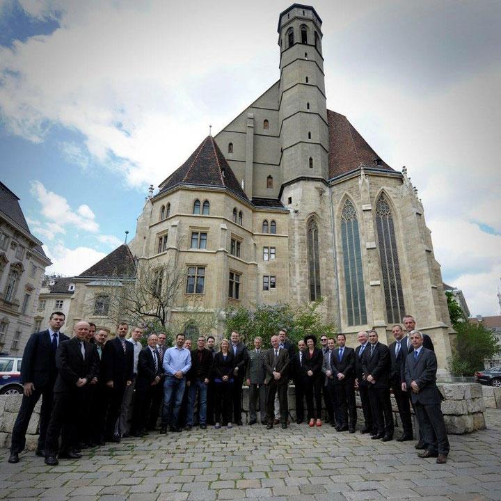 Встреча участников платформы CECSP