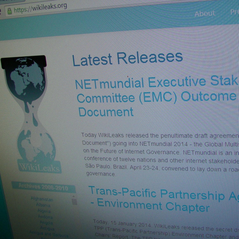 Выложенное на WikiLeaks соглашение к конференции NETmundial