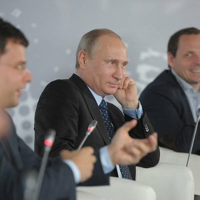 Владимир Путин на встрече с интернет-деятелями
