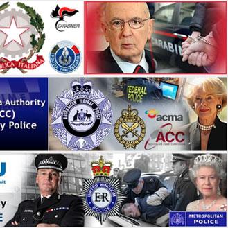 Полицейская символика разных стран