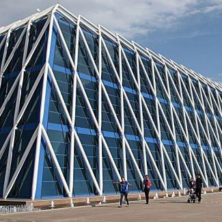 Дворец Независимости в Астане (Казахстан)
