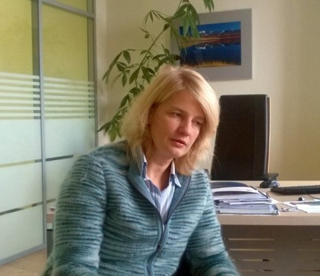 Наталья Касперская во время интервью. (с) D-Russia.ru
