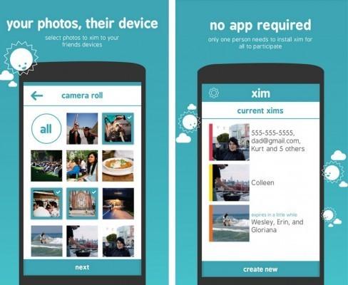 Скриншоты приложения Xim для Android