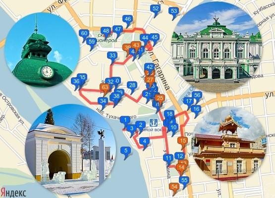 Онлайн-экскурсия полезна и перед поездкой в Омск, и во время прогулок по городу