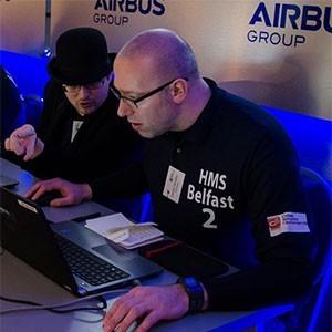 Соревнования по киберзащите Лондон,судно Белфаст Фото (с) EMIKO JOZUKA