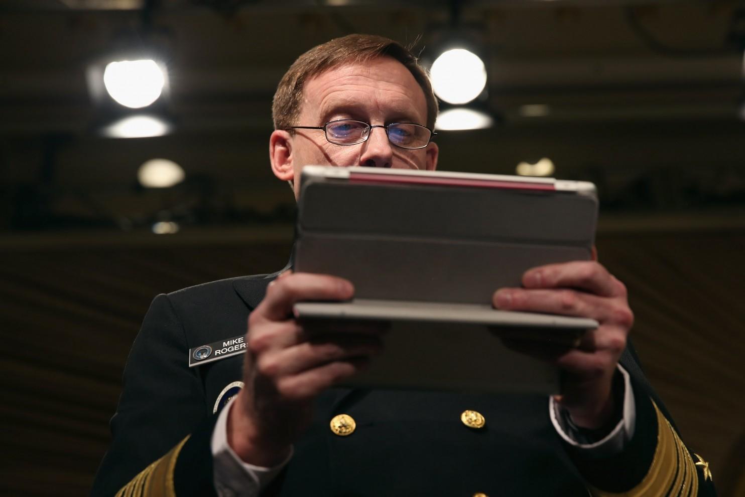 Глава Агентства национальной безопасности (АНБ) США Майкл Роджерс (Michael S. Rogers)