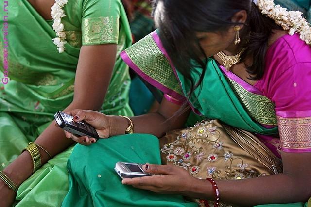 Индия мобильные телефоны