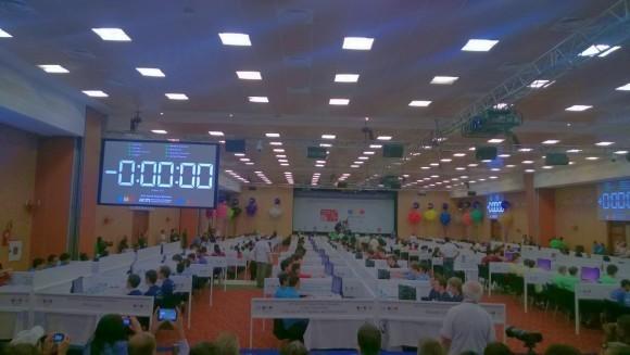 ICPC-2015, момент начала финальных соревнований. Фото (с) А. Анненков