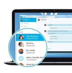 веб-версия skype