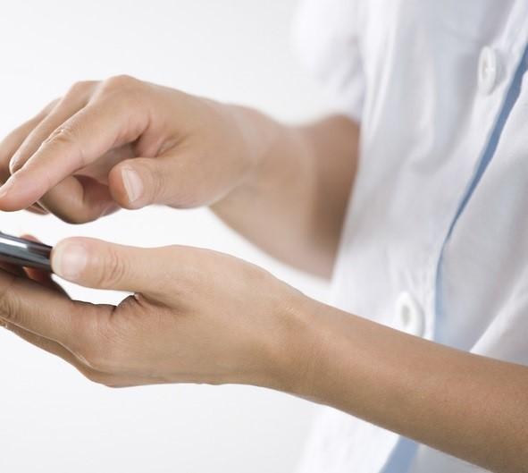 врач больница смартфон