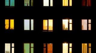 дом окна