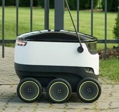 робот для доставки почты