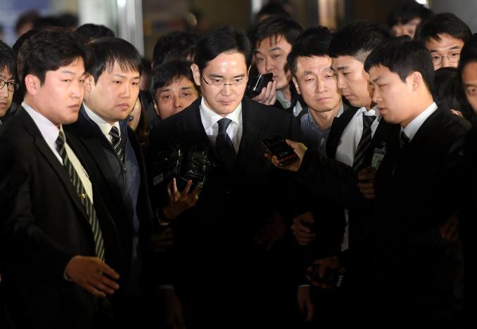 Фактический глава Samsung Group Ли Чжэ Ён (Lee Jae-yong)