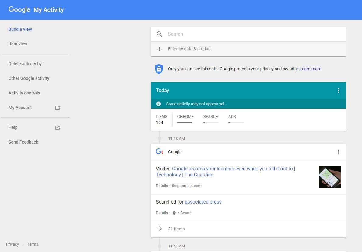 Google записывает историю перемещений пользователя Android вне зависимости от настроек ОС – СМИ