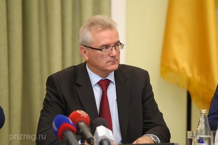 Губернатор Пензенской области Иван Белозерцев.
