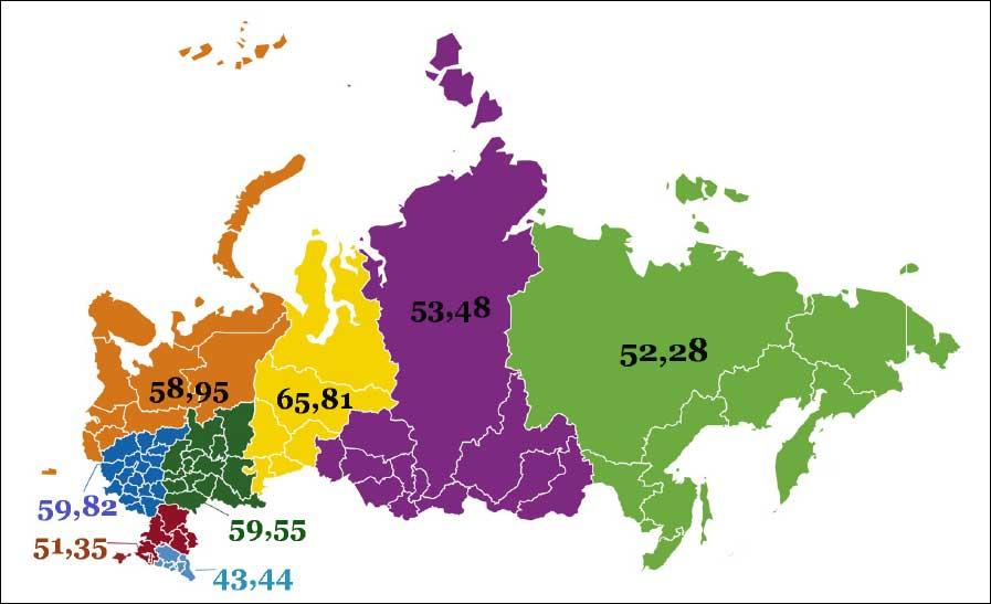 Вышла полная версия рейтинга регионов по уровню развития цифровизации «Цифровая Россия»