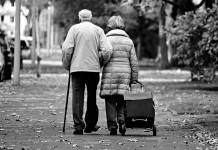 пожилые люди старики