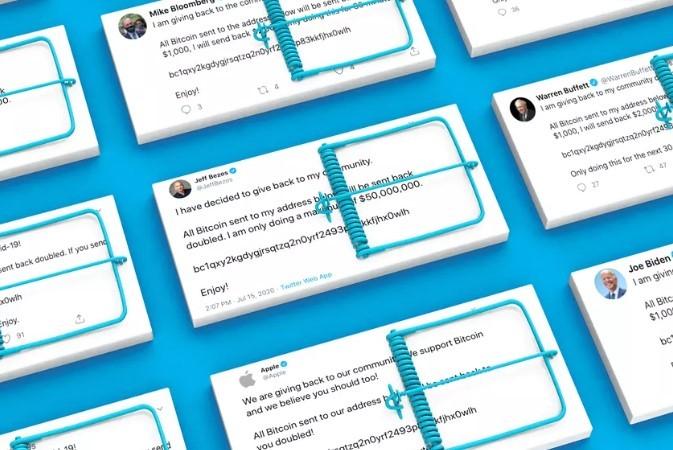 Акции Twitter упали после массового взлома аккаунтов известных людей