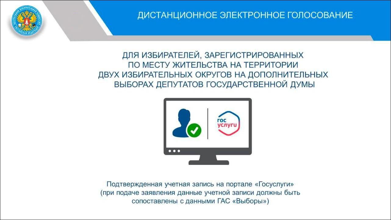 ЦИК назвал два региона, где в сентябре пройдет электронное голосование