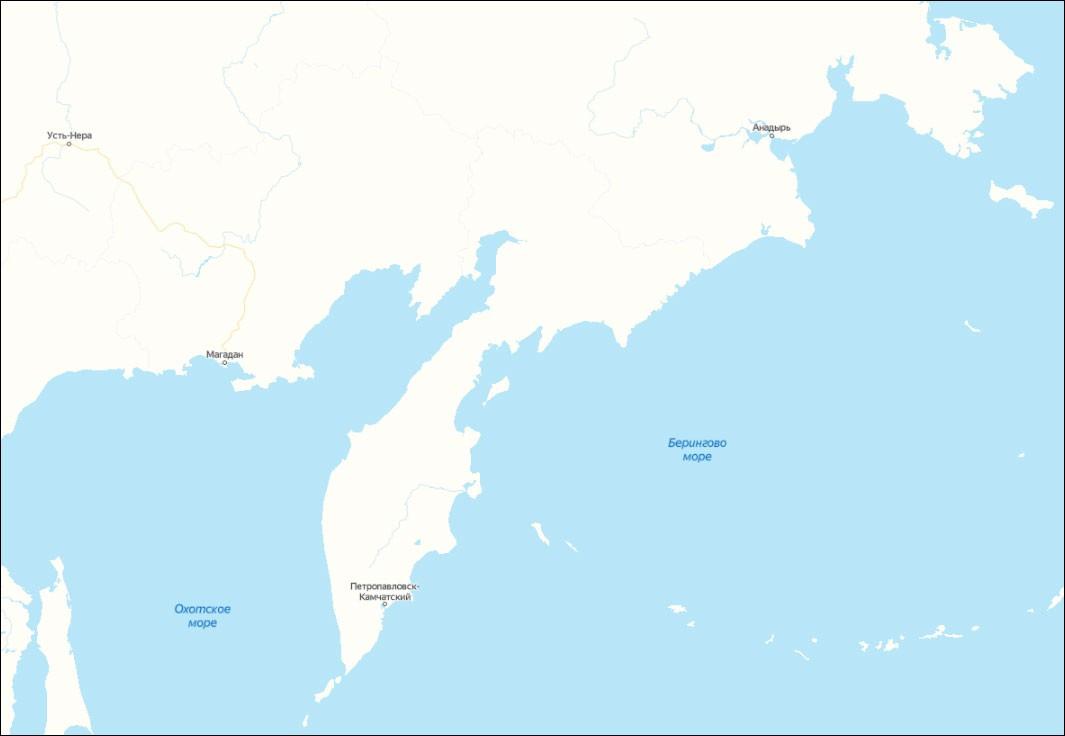 ВОЛС от Петропавловска-Камчатского до Анадыря – морем или по суше