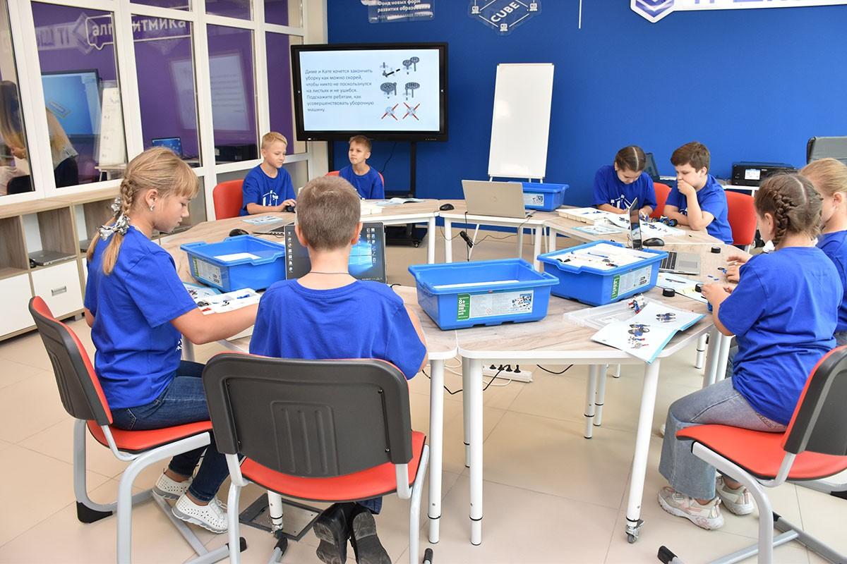 Центр цифрового образования детей «IT-куб» открылся в Белгороде