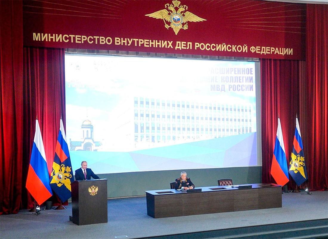 Президент РФ призвал МВД к активному мониторингу интернет-пространства