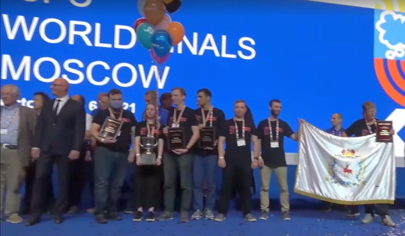 Финал ICPC впервые выиграла команда Нижегородского государственного университета им. Н.И. Лобачевского